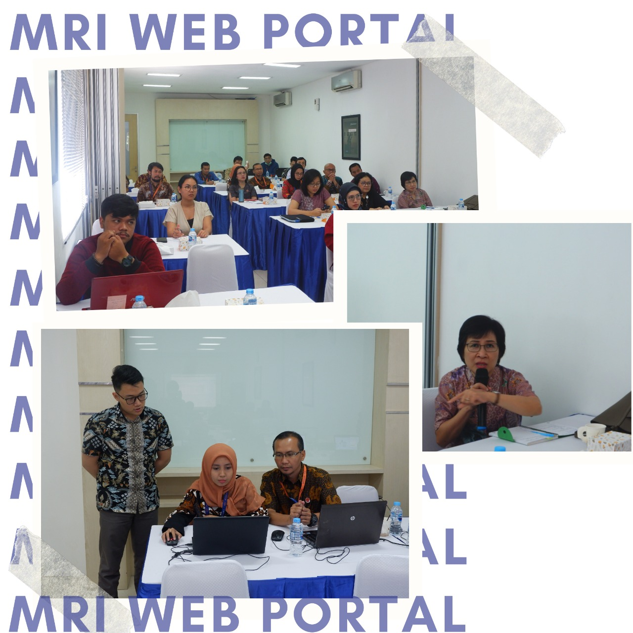 Web Portal Launching - Moores Rowland Indonesia